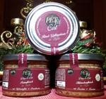 PETfit im Glas Putenfleisch in Soße, Hühnchenfleisch in Soße, Rind-Geflügelmix in Soße