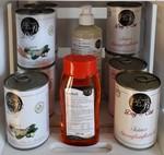 PETfit Produkte, Feines Straußenfleisch,  PETfit feiner Gemüsetopf, PETfit Lachsöl